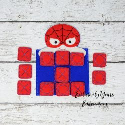 Spiderman Tic Tac Toe