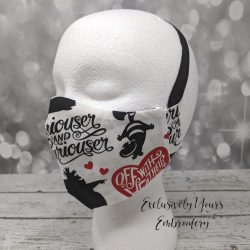 Off With Their Heads Fabric Face Mask