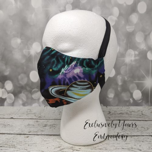 Planets Fabric Face Mask