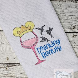 Drinking Beauty Kitchen Towel