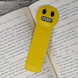 Eek Emoji Bookmark